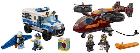 LEGO City Police 60209 Letalska policija in rop za diamante