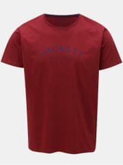 Hackett London vínové classic fit tričko