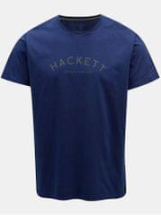 Hackett London modré classic fit tričko