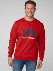 Helly Hansen červená pánská mikina s potiskem