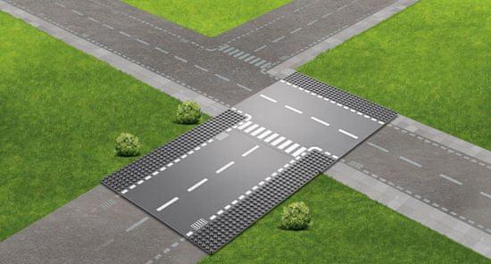 LEGO City Supplementary 60236 Rovná cesta s křižovatkou
