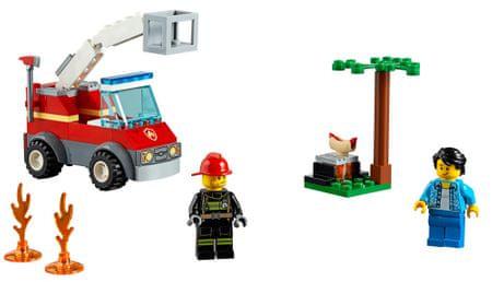 LEGO City 60212 Žar in ogenj
