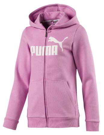 Puma kapucnis lány pulóver 140 rózsaszín