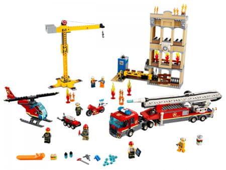LEGO City 60216 Tűzoltók a városközpontban