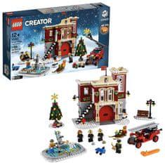 LEGO Creator Expert 10263 Hasičská stanica v zimnej dedine