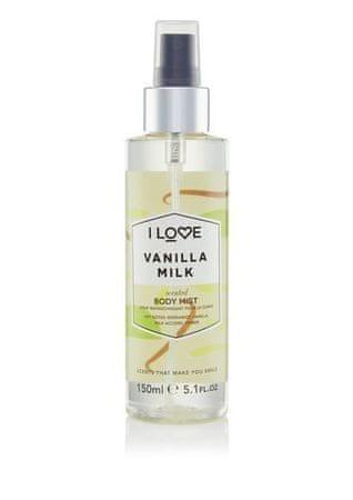I Love Cosmetics Tělo Vanilla Milk ( Body Mist) 150 ml
