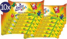 LINTEO Nedves törlőkendő Kids iskola - 10 x 15 db.