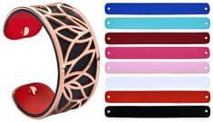 Troli Acél karkötő cserélhető színekkel 31 mm IX.