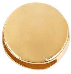 Troli Pozłacane złotem wisiorek Wheel Unique