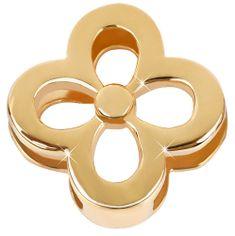 Troli Pozłacane złotem wisiorek Čtyřlístek Unique