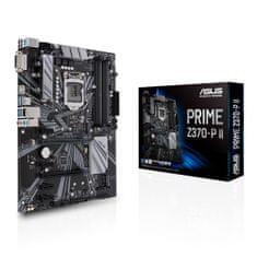 Asus osnovna plošča PRIME Z370-P II, LGA 1151, DDR4, ATX, za Intel 9th/8th i7/i5/i3,Intel Z370,USB 3.1,M.2