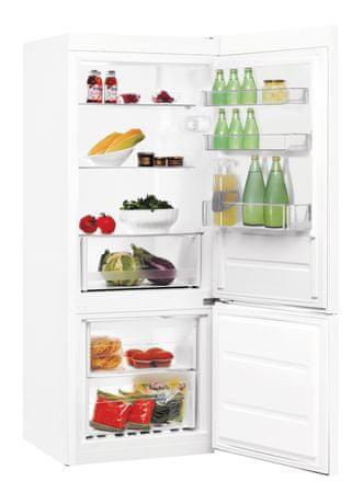 Indesit samostojeći kombinirani hladnjak LI6 S1 W