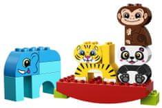 LEGO zestaw DUPLO 10884 Moje pierwsze zwierzątka na równoważni