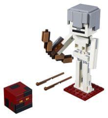 LEGO Minecraft 21150 Minecraft veľká figúrka: Kostlivec s pekelným slizom