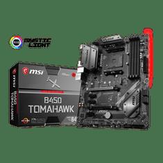 MSI osnovna plošča B450M TOMAHAWK, DDR4, SATA3, USB3.1Gen2, HDMI, AM4 ATX