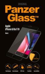 PanzerGlass Premium az Apple iPhone 6/6s/7/8 mobiltelefonra, fekete (2614)