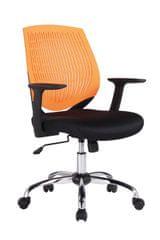 Antares Kancelářská židle Iowa oranžová
