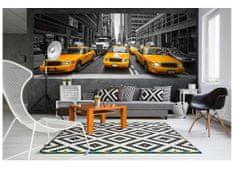 Dimex Fototapeta MP-2-0008 panoráma - Žlté taxi 375 x 150 cm