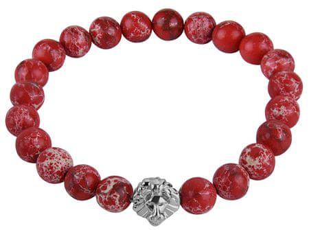 Troli Bransoletka wykonana z czerwonych koralików