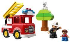 LEGO zestaw DUPLO 10901 Wóz strażacki