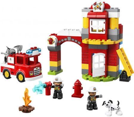 LEGO zestaw DUPLO 10903 Remiza strażacka