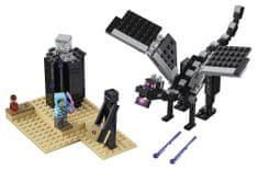 LEGO Minecraft 21151 Boj na koncu sveta