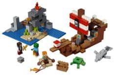 LEGO Minecraft 21152 Dobrodružstvo pirátskej lodi