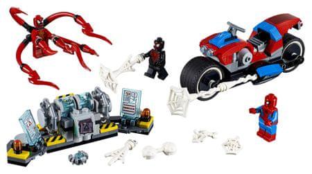 LEGO Super Heroes 76113 Spider-Man a záchrana na motorce
