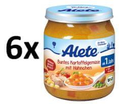 ALETE BIO zelenina + brambory + kuřecí maso - 250g