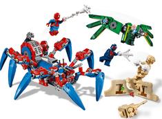 LEGO zestaw Super Heroes 76114 Mechaniczny pająk Spider-Mana