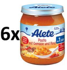 ALETE Těstoviny+zelenina+hovězí maso - 250g