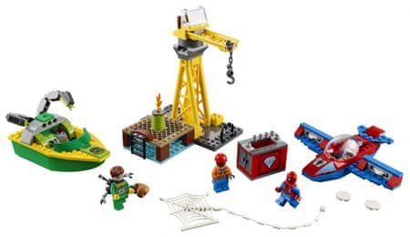 LEGO zestaw Super Heroes 76134 Spider-Man: Doc Ock i kradzież diamentów