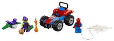 LEGO Spider-Man i hvatanje automobila