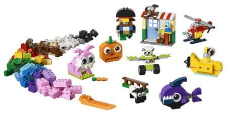 LEGO Classic 6250767 Kockák és szemek