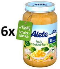 ALETE BIO těstoviny s brokolicí a smetanou - 220g
