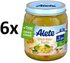 ALETE Sýrové rizoto se špenátem - 250g