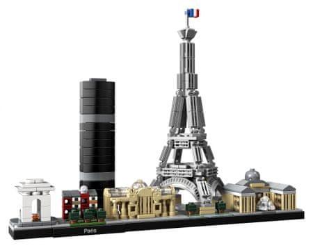 LEGO® Architecture 21044 Pariz - Odprta embalaža
