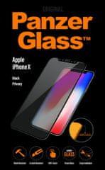 PanzerGlass Premium Privacy pro Apple iPhone X/Xs černé (P2623)