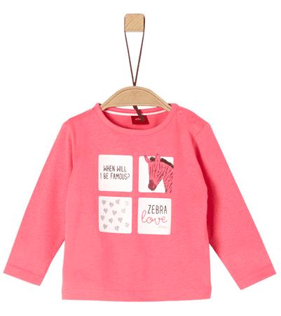 s.Oliver lány póló 62 rózsaszín
