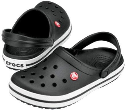 Crocs Šľapky Crocband Black 11016-001 (Veľkosť 36-37)
