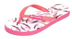 MEATFLY Dámske žabky Wings A - Pink Feather