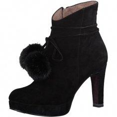Tamaris Dámske členkové topánky 1-1-25948-39-001 Black
