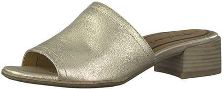 Tamaris Női papucs 1-1-27233-20-909 Light Gold (méret 37)