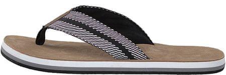 s.Oliver Pánské pantofle Black/White 5-5-17202-20-005 (Velikost 46)