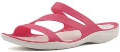 Crocs Női papucsSwiftwater Sandal Paradise Pink/White 203998-6NR