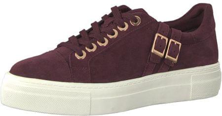 Tamaris Női sneaker cipő 1-1-23715-21-537 Merlot (méret 40)