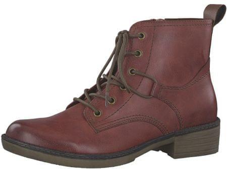 Tamaris Dámské kotníkové boty 1-1-25116-21-536 Sangria (Velikost 38)