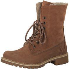 Tamaris Dámske členkové topánky 1-1-26443-21-540 Brick