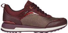 Geox Női sportcipőAneko B ABX A Coffee/Dk Burgundy D843FA-0LYMC-C6M7J