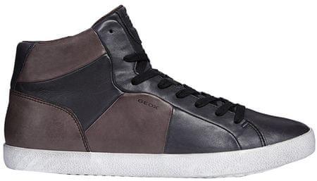 Geox Męskie sneakersy do kostek Smart Black A Black / Kawa U84X2A-00043-C0630 (rozmiar 42)